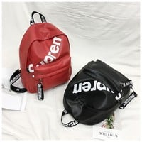 Supreme Back To School College Stylish Comfort Casual Unsiex Backpack [105073115148]