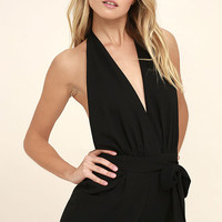Playsuit My Fancy Black Romper