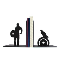 Captain America Bookends