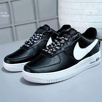 NIKE AIR FORCE 1 '07 LV8 low cut casual shoes sneakers F-A-FJGJXMY black