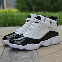 """Air Jordan 6"" Men Casual Fashion Multicolor High Help Basketball Shoes Sneakers"