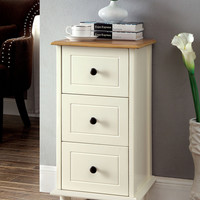 Dillon Bed Side Table CM-AC143WH