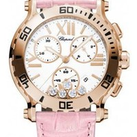 Chopard - Happy Sport - Chrono - Rose Gold