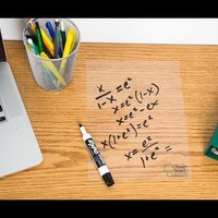 Dry Erase Sheets by Think Board