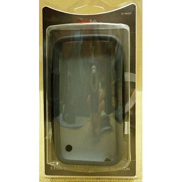 Rocketfish RF-WR507 Silicone Case for iPhone 3G/3GS 2 Pack Black/Gray -- New