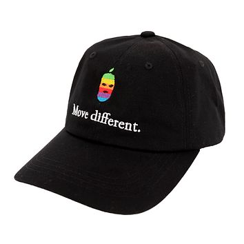 Move Different Dad Hat Black
