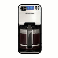 iPhone 5 Case Coffee Maker iPhone 5s Coffee Machine Back Cover iPhone 5 5s Hard Case Novelty 9113