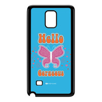 Sassy - Hello Gorgeous 10433 Black Hard Plastic Case for Galaxy Note 4 by Sassy Slang