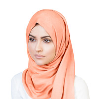 CORAL LIGHT MODAL HIJAB - $21.51 : Inayah, Islamic clothing & fashion, abayas, jilbabs, hijabs, jalabiyas & hijab pins