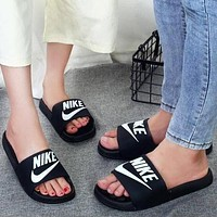Nike Shoes Fashion Slippers Trendy Men's and Women's Beach Sandals
