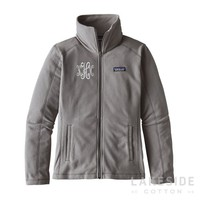Micro D® Fleece Jacket in Feather Grey | Lakeside Cotton