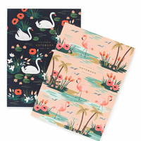 Two Birds of a Feather Notebook Set