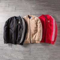 ADIDAS Woman Men Fashion Coat Jacket Coat Cardigan Windbreaker