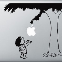 """The Giving Tree Vinyl Decal Sticker Graphic for Mac book Macbook Pro  13"""" 15"""" 17"""" Macbook Air"""