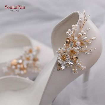 Shoe Clips for Parties, Weddings High Heels Fashion Buckle Accessories