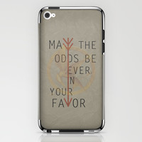 The Hunger Games Poster 02 iPhone & iPod Skin by Misery