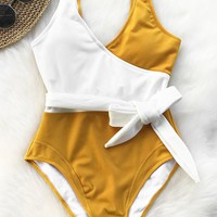 Cupshe The Spring Snow One-piece Swimsuit