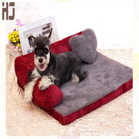 Thickened Pet Dog bed Sofa Mat soft Comfortable Detachable deign Resistance to bite  Large Dog Cat Bed Indoor pet house