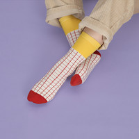 Grid Notepad Sock