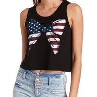 AMERICANA BOW GRAPHIC MUSCLE TEE