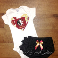 Florida State Seminoles Girls Outfit