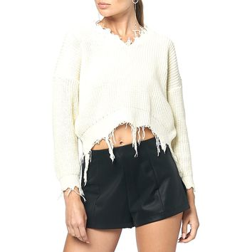 Basic Black Faux Leather A-Line Shorts