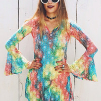 Dazed and Confused Tie-Dye Dress – Miracle Eye
