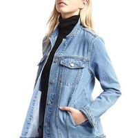 1969 long denim jacket | Gap