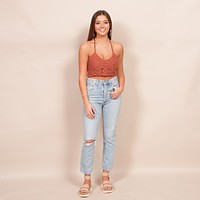 Free People - Sydney Crochet Bralette