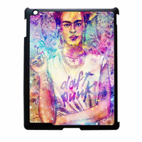 Frida Kahlo Flower Paintings On Galaxy Nebula iPad 2 Case