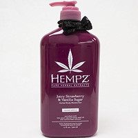 Hempz Juicy Strawberry & Vanilla Sugar Moisturizer 17 Ounce
