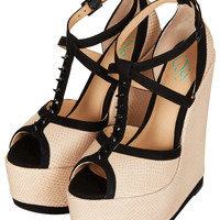 **Roll The Dice Wedges By CJG - Topshop USA