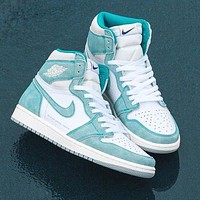 NIKE Air jordan 1 AJ1 men's and women's sneakers Shoes