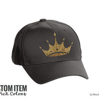 ZTA Zeta Tau Alpha Crown Hat