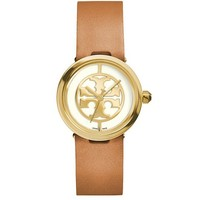 Tory Burch Luggage Leather/gold-tone, 28 Mm