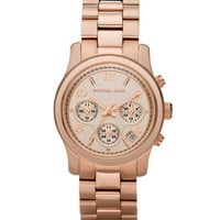 Michael Kors Michael Kors Rose Golden Midsized Chronograph Watch - Michael Kors