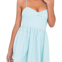 Blue Spaghetti Strap Cami Dress not available