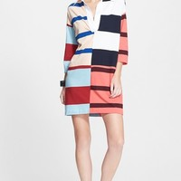 Women's Stella McCartney Rugby Stripe Cotton T-Shirt Dress,