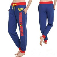 Cool Wonder Woman Princess Dian Cosplay Costumes Joggers Trousers Sport Gym Pants TracksuitAT_93_12
