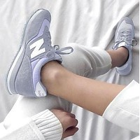 New Balance Casual running shoes Sports shoes Z-Letters Classic Sneakers Shoes Grey