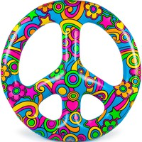 Giant Peace Sign Pool Float