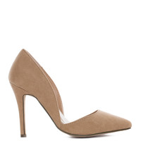 Electric Love Pumps - Taupe