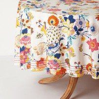 """Heredia Tablecloth by Anthropologie in Multi Size: 90"""" Round Kitchen"""