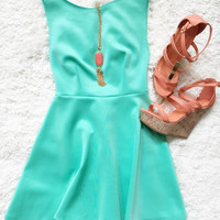 I'll stand by you dress - Mint