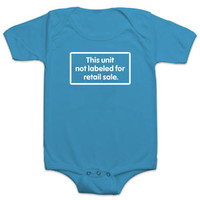 Not Labeled for Retail Sale Bodysuit