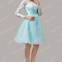 CHEAP~ Quinceanera Prom Dress Formal Party Evening Gown Short Bridesmaid Dresses