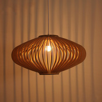 Free Shipping Handmade Wooden Chandeliers Pendant Lamp Lighting Fixture For Home Decoration
