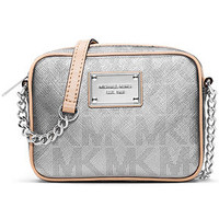 MICHAEL Michael Kors Signature Metallic Crossbody
