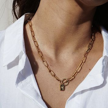 Toggle Charm Necklace