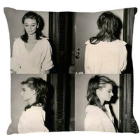 Audrey Hepburn-Split Images-the Pillow | hudiefly